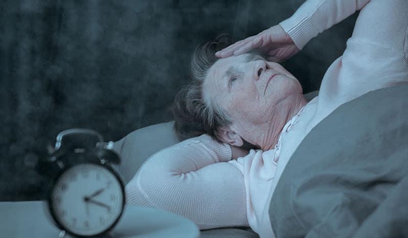 عوارض اختلال خواب در سالمندان