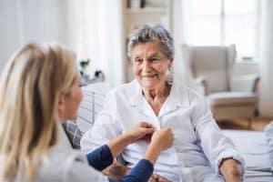 پرستار سالمند در منزل - سپید گستر