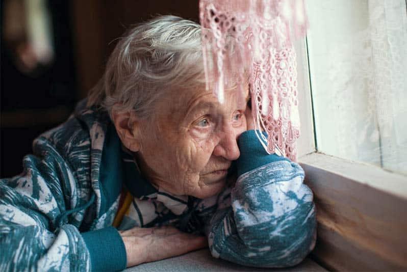 علت افسردگی سالمندان